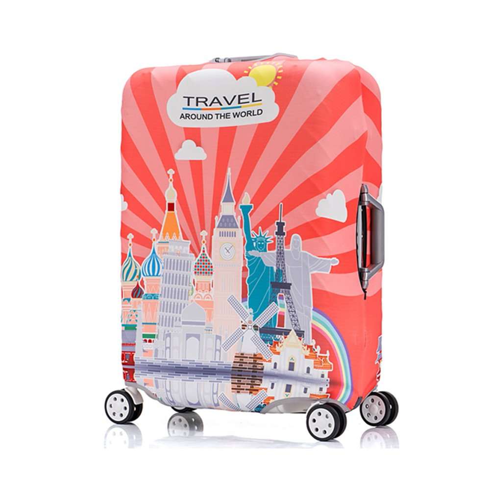 yazi Washable Trolley Luggage Cover Dust Proof Travel Suitcase Protector Bag L fit 25-28 inch happyness2014 005549