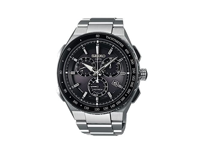 Amazon.com: Seiko Astron GPS Solar Chronograph SSE129J1 Mens GPS reception for time and timezone: Watches