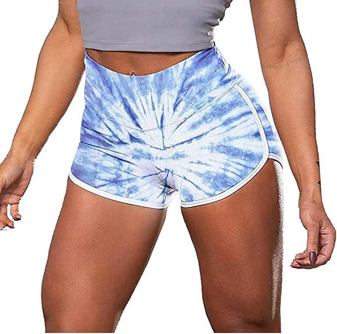 ANJUNIE Women Basic Mini Capris Shorts Slip Bike Short Pant Leggings Yoga Trousers