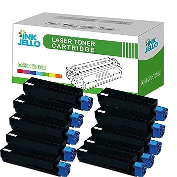 InkJello - Cartucho de tóner compatible para Oki B420 430 440 (10 ...