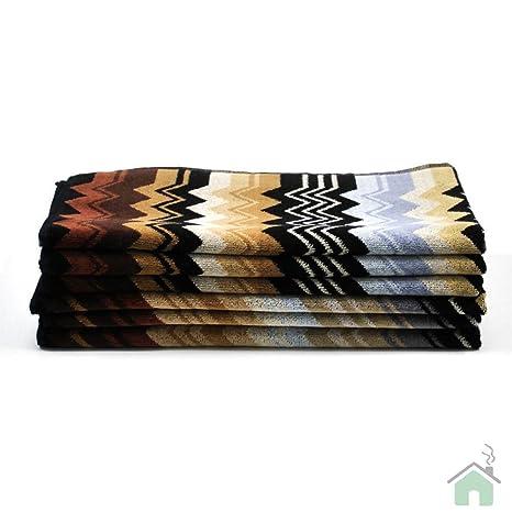 Missoni Giacomo 160 Toalla Dimensiones 100 x 150 cm zigzag Diseño de Onda