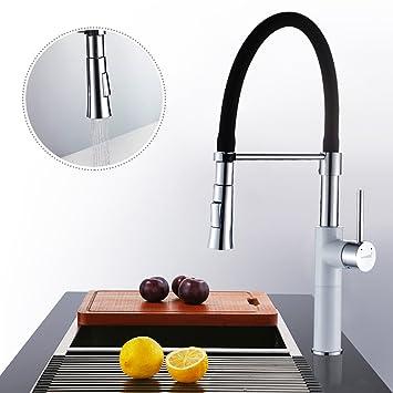 Hervorragend WOOHSE Küchenarmatur mit 2 Strahlarten, Auslauf 360° Schwenkbar  WT52