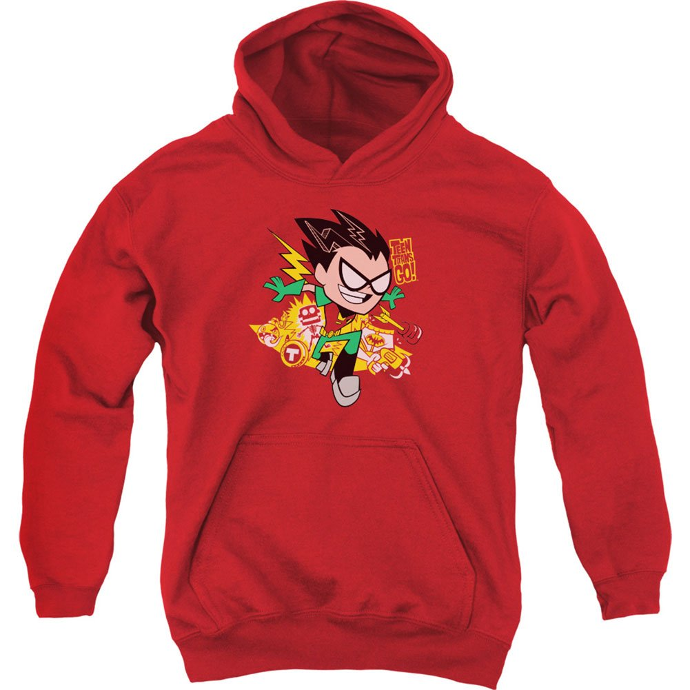 Teen Titans Go Robin Kids Hooded Sweatshirt TREVCO