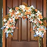 Wedding Ceremoney Arch, Floral Wedding Arch, Wedding Arch Decoration, Bridal Floral, Window Swag, Window Decoration