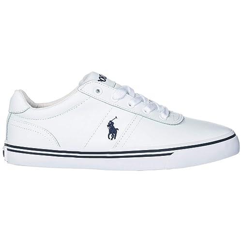 Polo Ralph Lauren Hanford Zapatillas Deportivas Hombre White: Amazon.es: Zapatos y complementos