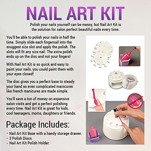 Amazon Perfect Nail Art Tool For Quick And Easy Polishing
