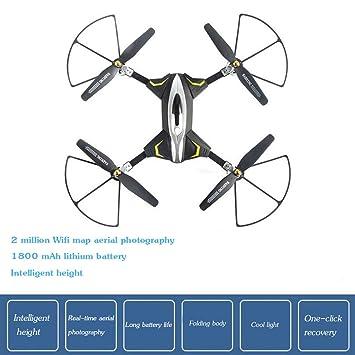 Drone, cámara de transmisión de imágenes, ángulo ajustable ...