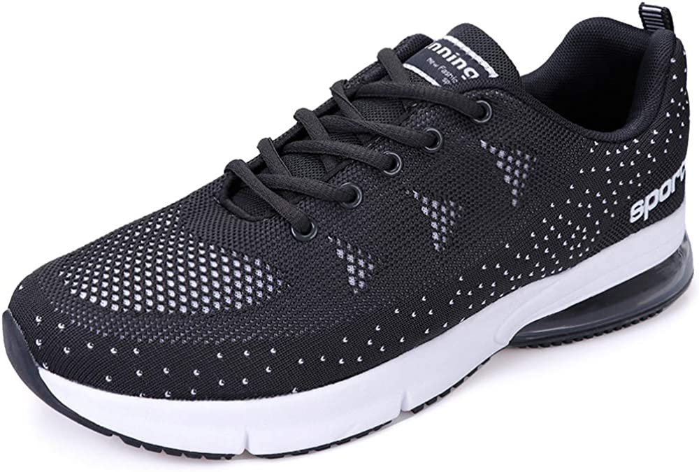 Running Shoes Men Tennis Walking Hiking Casual Jogging Trail Sport Athletic Air Cushion Breathable Lightweight Sneakers