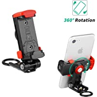 Phone Tripod Mount, Fotopro Smartphone Holder Mount Adapter for iPhone Xs Max, Tripod, Selfie, Monopod, Adjustable Clamp with Quick Release for Shutterbugs or Filmmakers
