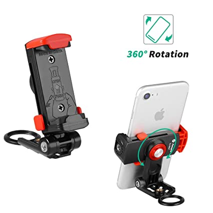 competitive price a6102 421a6 Fotopro SJ-86 M+ Phone Tripod Mount,Smartphone Holder Mount Adapter iPhone  Xs Max, Tripod, Selfie, Monopod, Adjustable Clamp Quick Release Shutterbugs  ...
