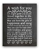 "Wedding Chalkboard Print, Wedding Gift, Wedding Blessing Quote, Wedding Verse (8x10"")"