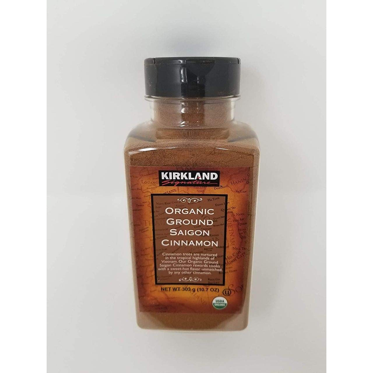 Kirkland Organic Ground Saigon Cinnamon -10.7 oz