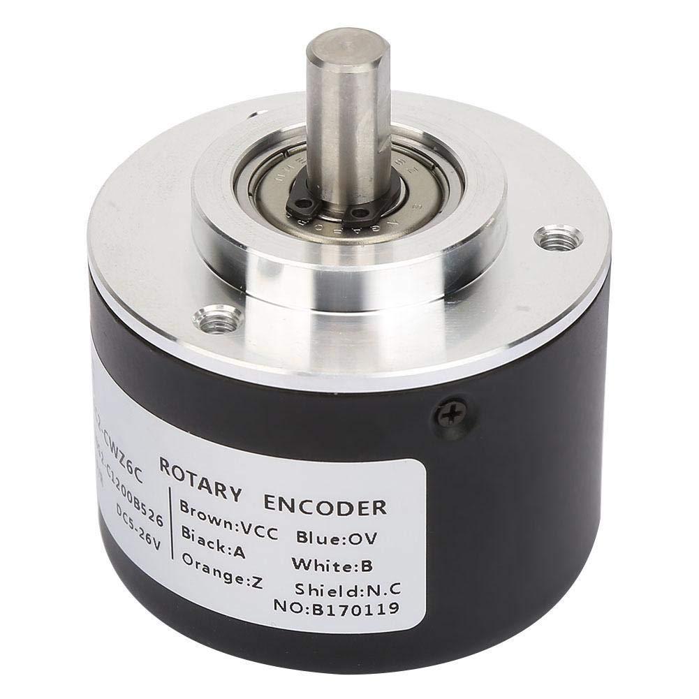 3600P//R Incremental Rotary Encoder,E6C2-CWZ6C Incremental Rotary Encoder General-Purpose Encoder 50mm Diameter