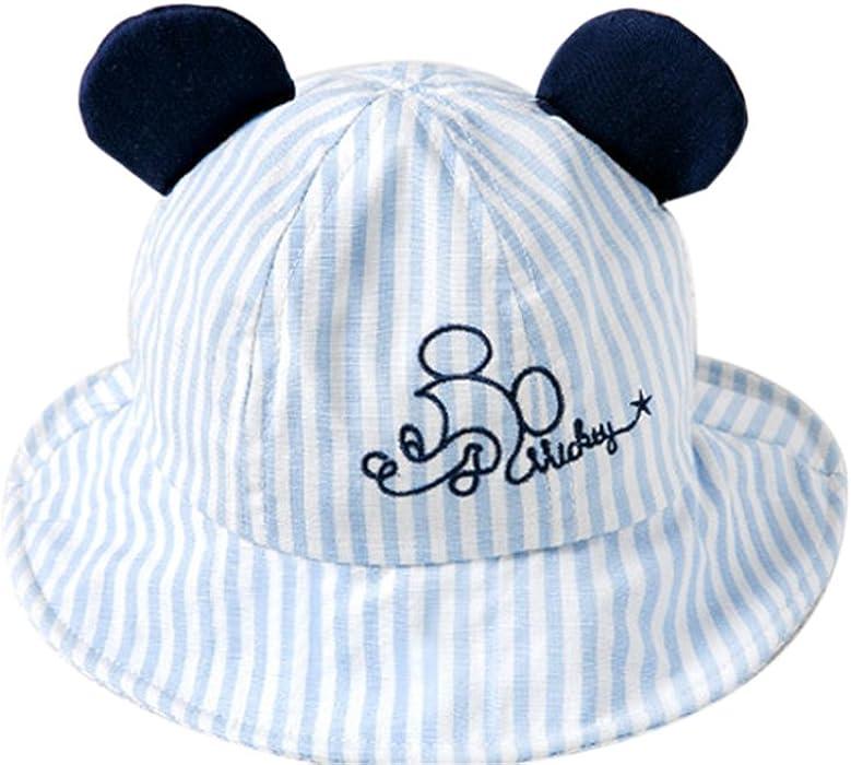 huateng Cappelli per bambini Primavera Estate Nuova stampa Cappelli esterni Cappello  da principessa Cappello da spiaggia Cappello da spiaggia traspirante d8d8a9989a61