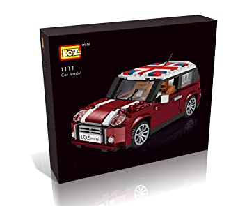 Loz Car Model Mini Car Building Blocks Diy Building Bricks Sets