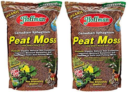 - Hoffman 15503 Canadian Sphagnum Peat Moss, 10 Quarts (2, 1)