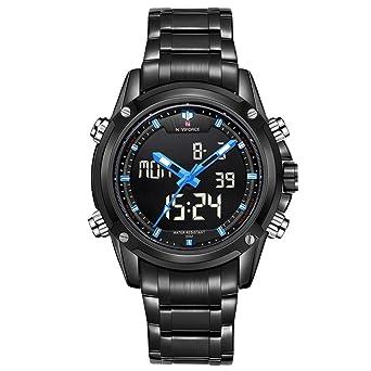 Smalody Men Sport Full Steel Digital LED watch reloj hombre Army Military wristwatch Full Steel relogio