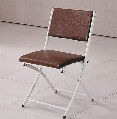 Acier Cadre en Métal Tissu rembourré pliant dossier Portable Chaise /& Wooden Table
