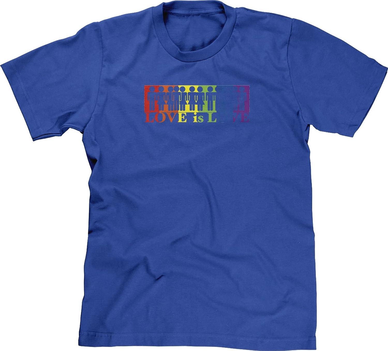 Blittzen Mens T-shirt Love Is Love - Multicolor