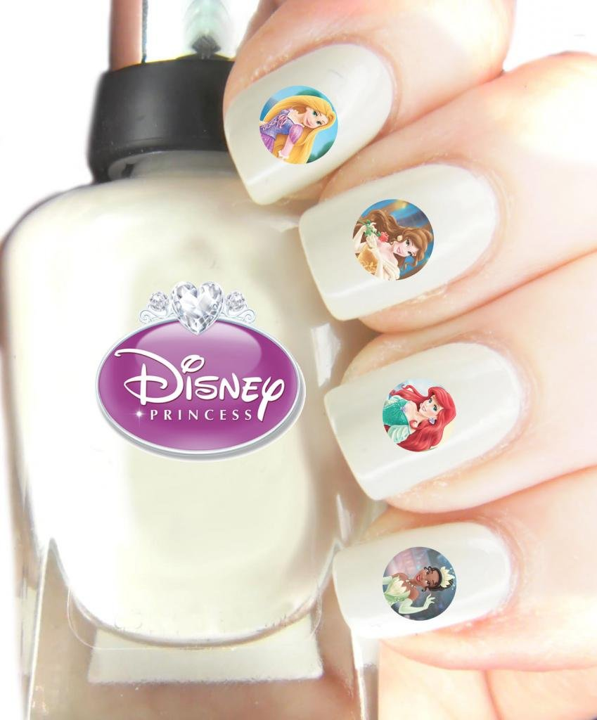 Easy to use nail art transfer stickers Disney Princess: Amazon.co.uk .