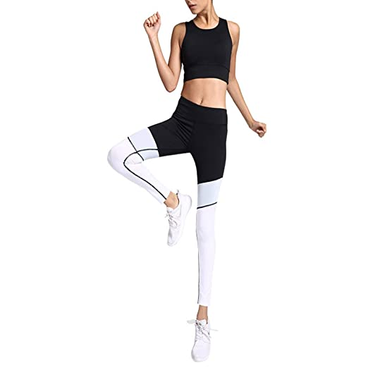 99034c234a Women's Two Pieces Sexy Slim Fitness Clothing Removable Pads Sports ...