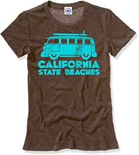 product image for Hank Player U.S.A. California State Beaches Women's T-Shirt