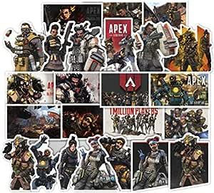 ملصقات خلفية 80 قطعة لعبة aPEX Trunk ملصقات PVC apex legends Graffiti Sticker Guitar Car phone Window حقيبة ملصقات مقاومة للماء