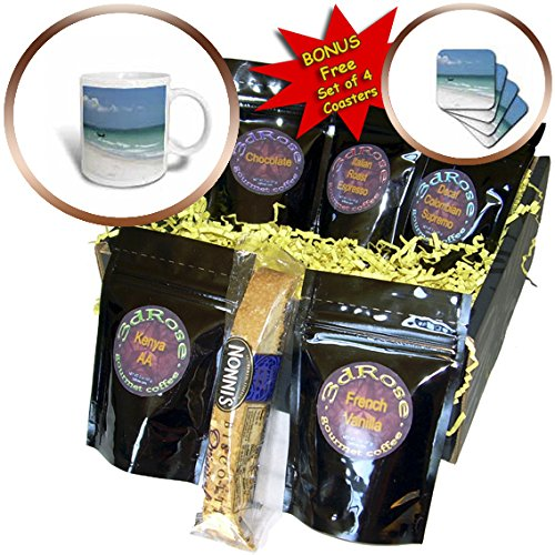 Florene Beach And Sunset Art - Image of Abstract Naples Florida Beach And Boat - Coffee Gift Baskets - Coffee Gift Basket (cgb_245117_1) (Naples Florida Gift Baskets)