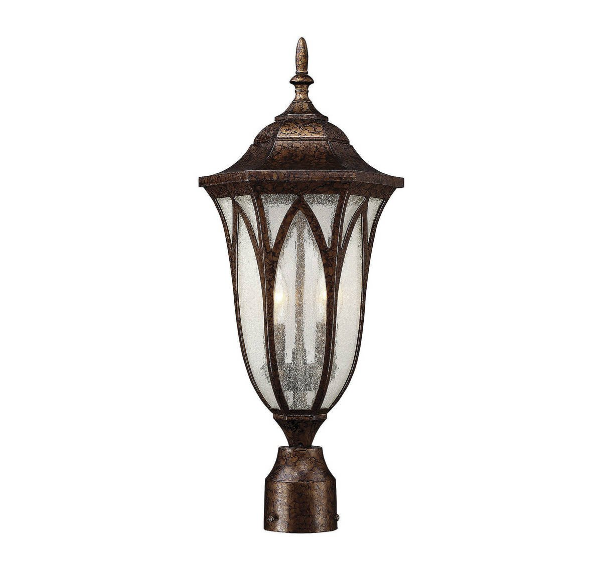 Savoy House 5-1243-56 Dayton 2-Light Post Lantern in New Tortoise Shell