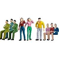 50pcs Modelos de Personas Pintadas Accesorios de Modelismo