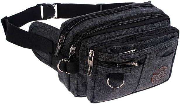 New Vintage Mens Zipper Pock Wallet Travel Waist Hip Pack Lot Purse Shoulder Bag