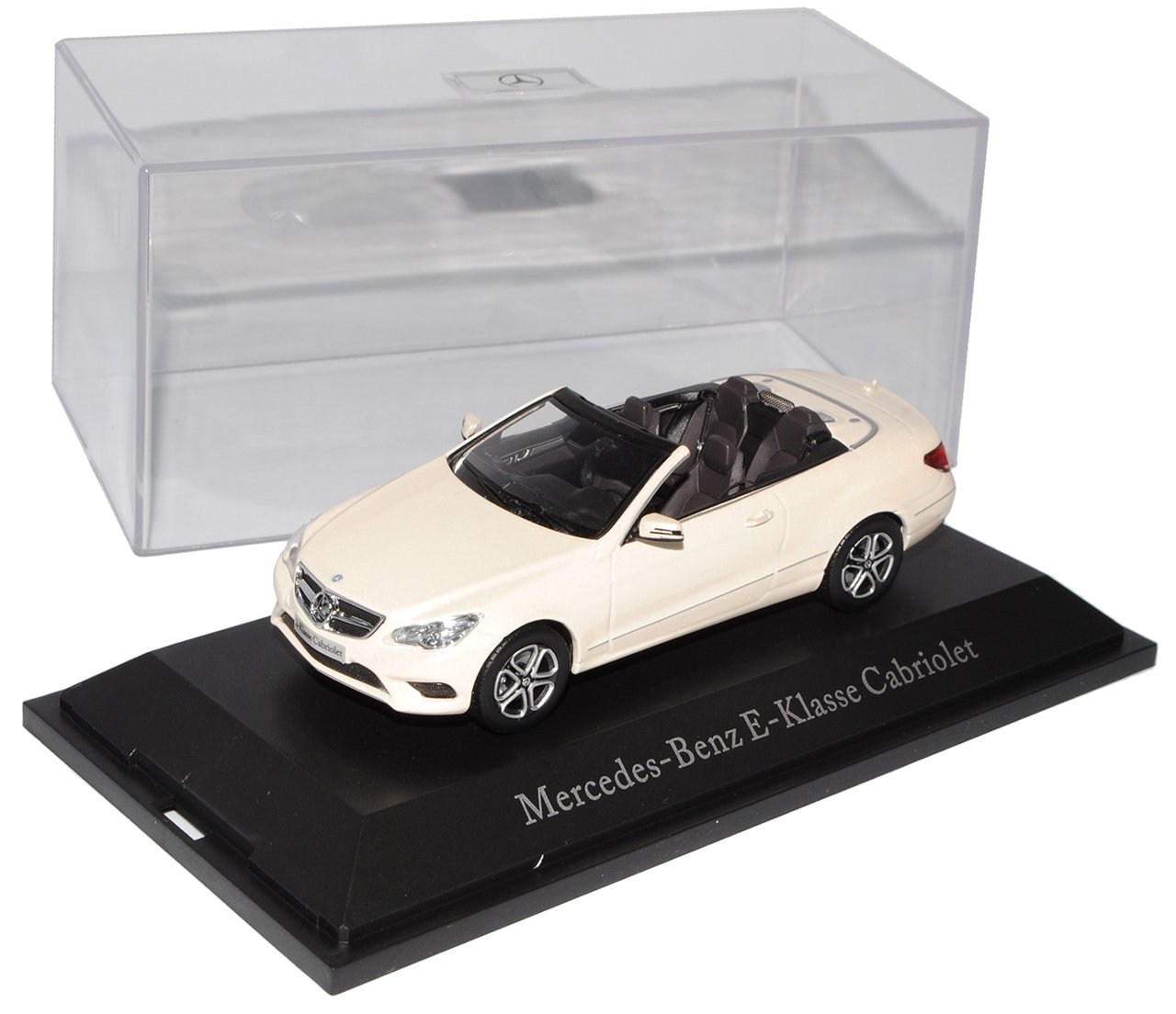 Mercedes-Benz E-Klasse Cabrio Diamant Weiss Weiss Weiss W212 Ab Facelift 2013 1/43 Kyosho Modell Auto f504e4