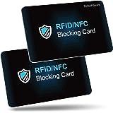 RFID de Blocker Bloqueo [2 Piezas],Befekt Gears RFID Tarjeta de Protección, Protectores de Tarjetas de Crédito - Ofrezca…