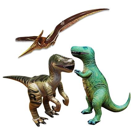 Amazon.com: Jet Creaciones 3 piezas de dinosaurios ...