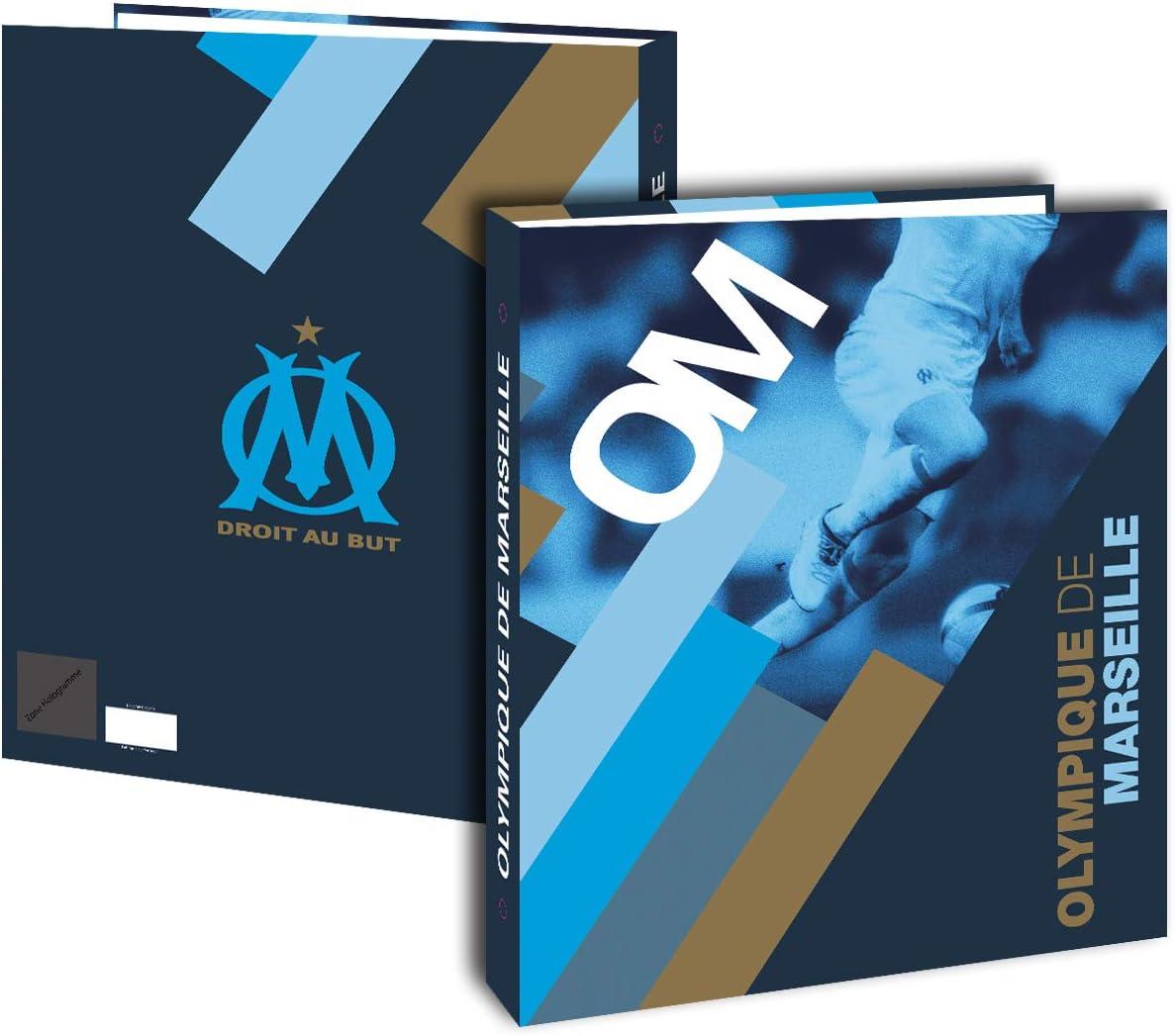 Collection Officielle OLYMPIQUE DE MARSEILLE Classeur A4 Om