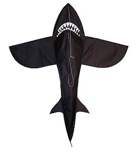 In the Breeze 3D Shark Kite, 4-Feet