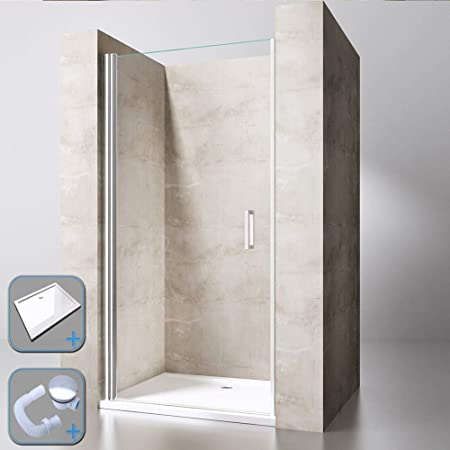 durovin Badezimmer modernes Teramo 22 Dusche Gehäuse klar ...