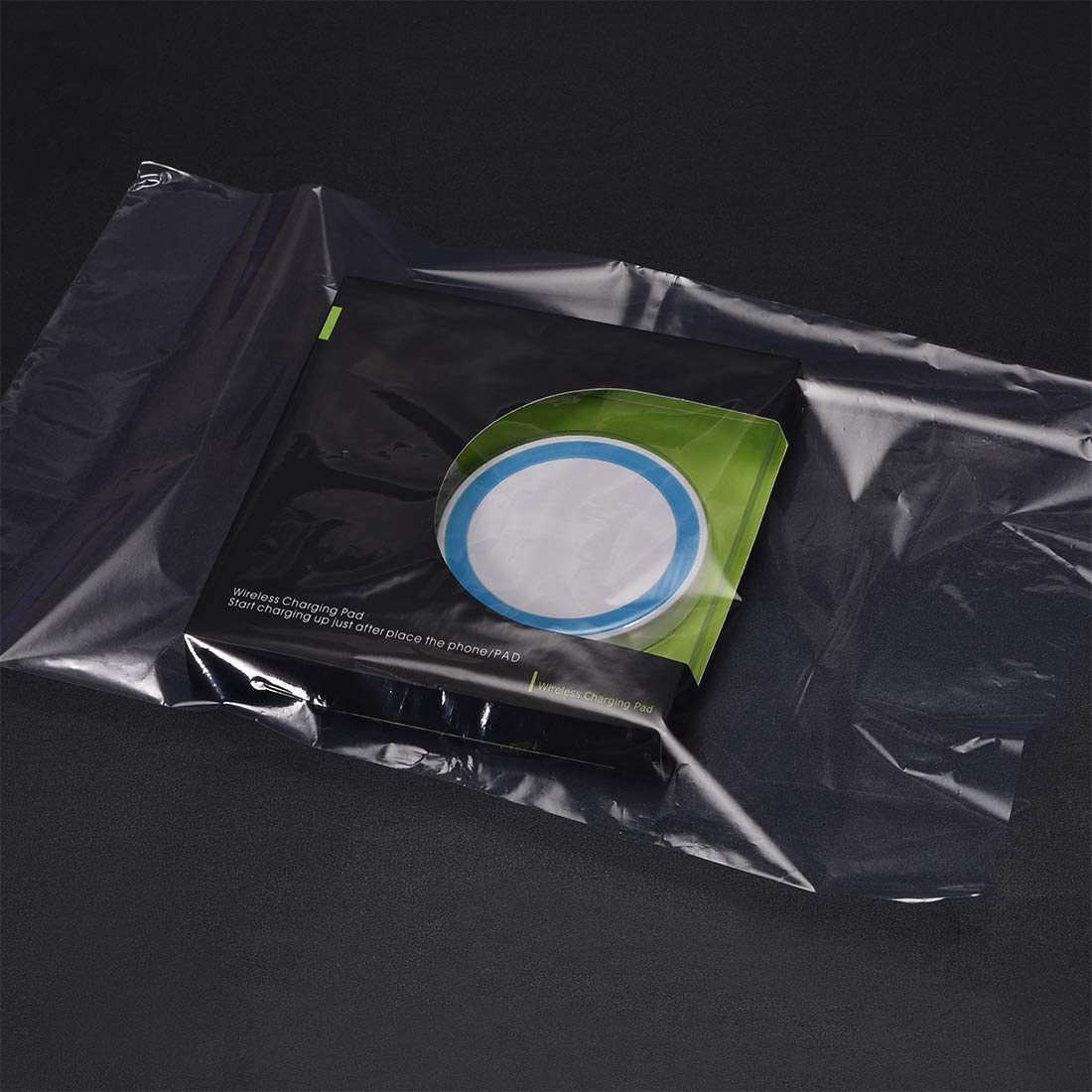 uxcell Shrink Bags PVC Heat Shrink Wrap Bags 10x6.5 inch 100pcs Shrinkable Wrapping Packaging Bags Industrial Packaging Sealer Bags