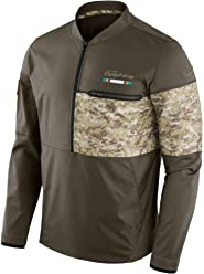 Miami Dolphins Nike NFL Salute to Service Sideline Mens Hybrid Jacket