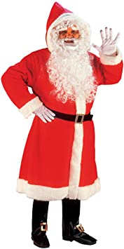 Disfraz de knecht Deluxe para disfraz de Papá Noel Santa Claus ...