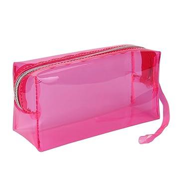 Covermason Niña Transparente Caja de lápices Estuches (Rosa ...
