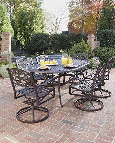 Biscayne Bronze 7-Piece Outdoor Dining Set by Home - Biscayne Dining Set