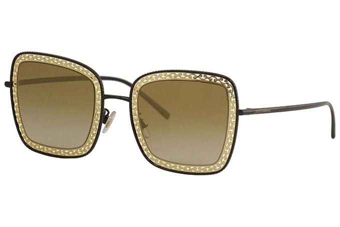 Dolce & Gabbana 0DG2225 Gafas de sol, Black, 52 para Mujer ...