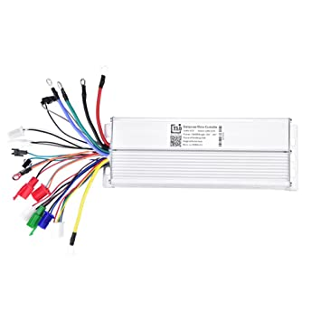 Tbest 60V 1500W Brush Motor Speed Controller Electric Motor