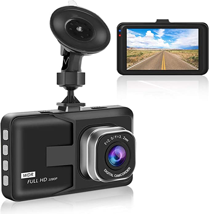 Aigoss Dashcam Autokamera Video Recorder 1080p Full Hd Elektronik