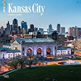 Kansas City 2018 12 x 12 Inch Monthly Square Wall Calendar, USA United States of America Missouri Midwest