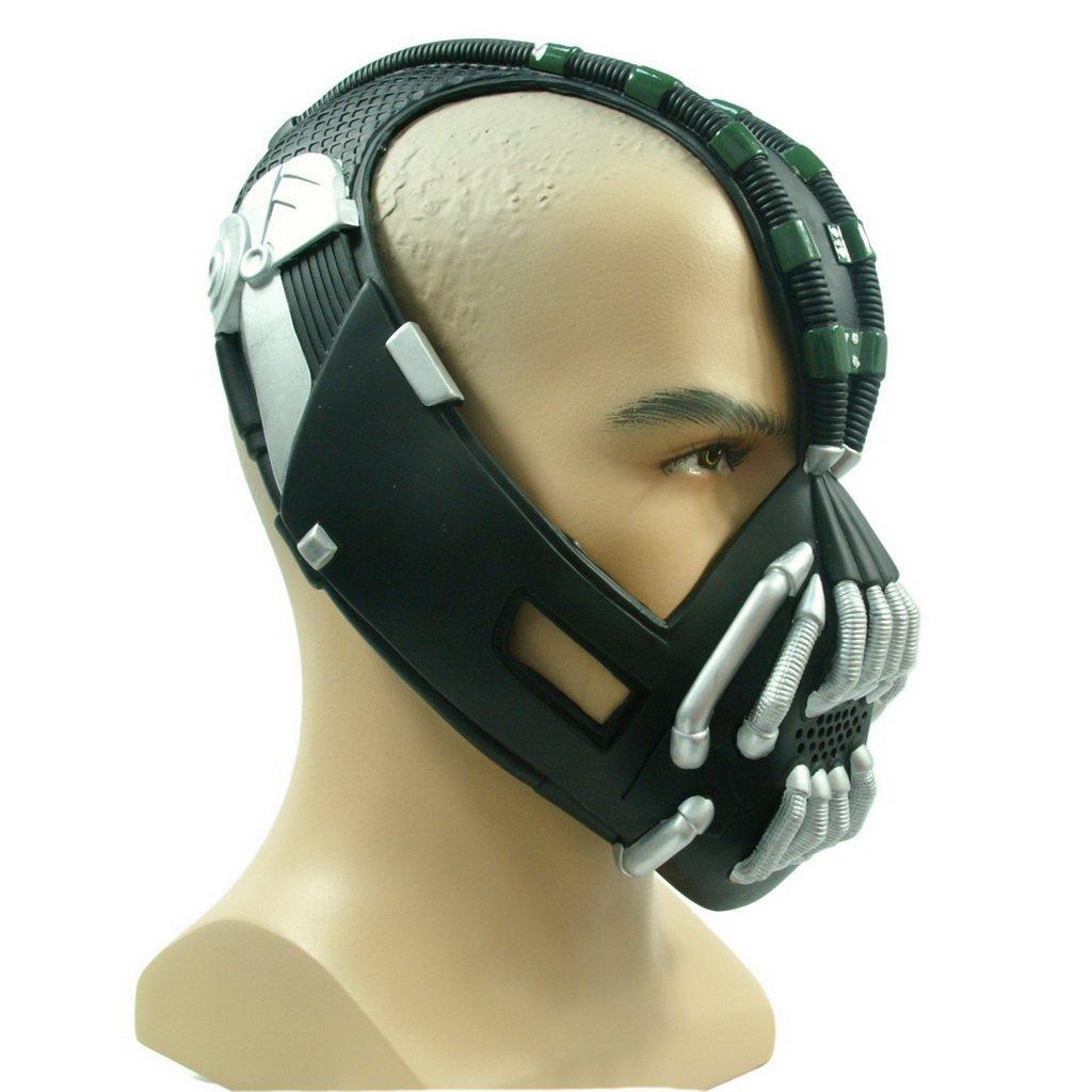 Amazon.com: Bane Mask Replica Silver Version Adult Size for Batman ...