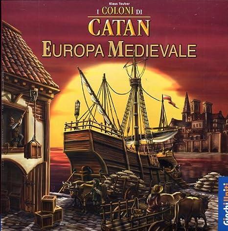 Giochi Uniti I Coloni di Catan: Europa Medievale - Juego de Mesa (versión en Italiano) [Importado de Italia]: aa.vv.: Amazon.es: Juguetes y juegos
