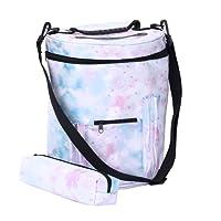 Garn Bin/Drum Speicher für gehäkelte und Stricken Strickgarn Halter, sweetauk Wolle Aufbewahrungstasche tragbar, leicht und einfach zu transportieren