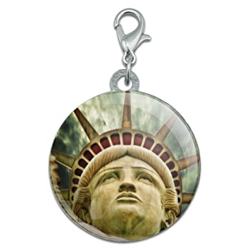 Liberty Is Lovely Lady >> Amazon Com Lovely Lady Liberty Stainless Steel Pet Dog Id Tag